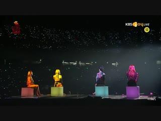 Mamamoo - Starry Night @ 28th Seoul Music Awards 190115