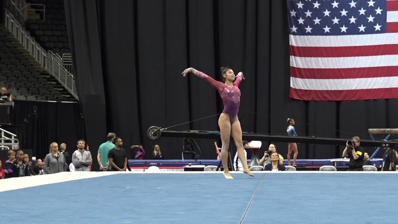 Kayla DiCello – Floor Exercise – 2019 U.S. Gymnastics Championships – Junior Women Day 2
