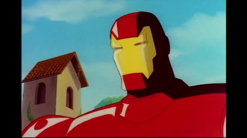 Сезон 02 Серия 08 Щит и меч Часть 1 Железный человек 1994 1996 Iron Man The Armor Wars Part 1