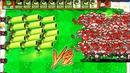 Zombotany 2 Gatling Pea vs 999 Football Zombies PVZ Hack