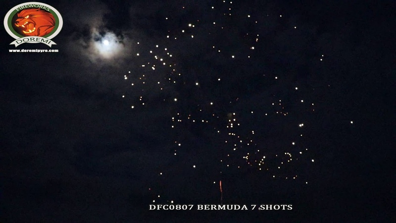 DFC0807 BERMUDA 7 SHOTS 0 8 inch 7 Shots Cake