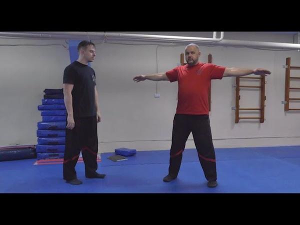 Stikhiya Wing Chun. Материнская ось Вин Чунь.
