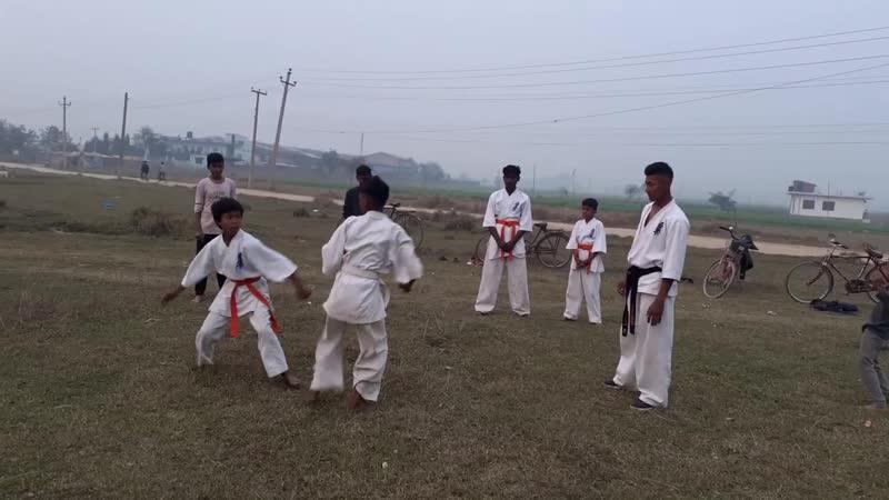 Kyokushin karate kumithe