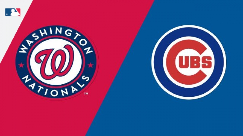 NL 11 08 18 WAS Nationals @ CHI Cubs 2 3