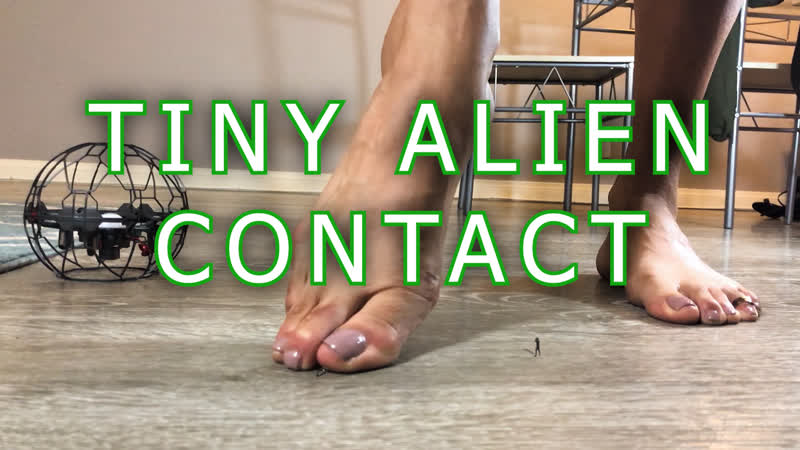 "Giantess Cleo Lea Tiny Alien Contact"" Foot Crush Vore Trailer"