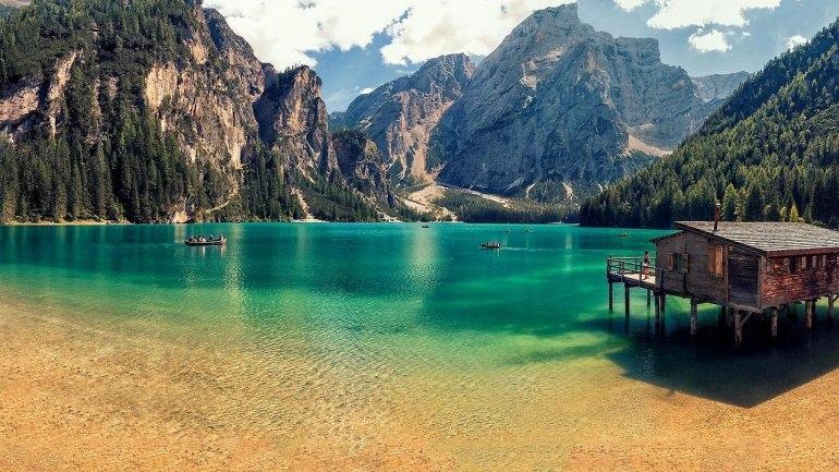 Озеро Брайес. То самое, о котором много фото :), изображение №1