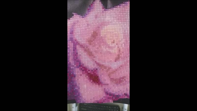 Алмазная Вышивка. Нежная Роза