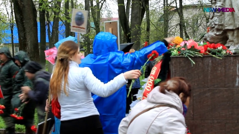 Бессмертный полк и День Победы в Зубцове 9 мая 2019 года