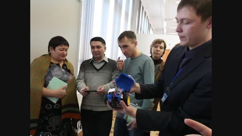Техногород Булат, студия робототехники. Фрагмент 4. Видео: Ловцов О.Б.