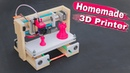 How To Make 3D Printer at Home Arduino Project