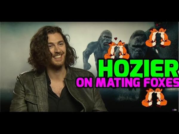 The Legend Of Tarzan Hozier talks fox genitalia and wanting the leading role