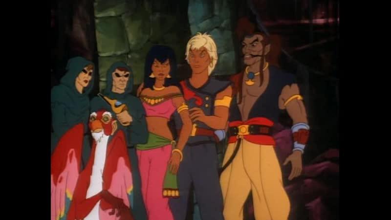 Пираты тёмной воды The Pirates of Dark Water Темные последователи 14 Серия