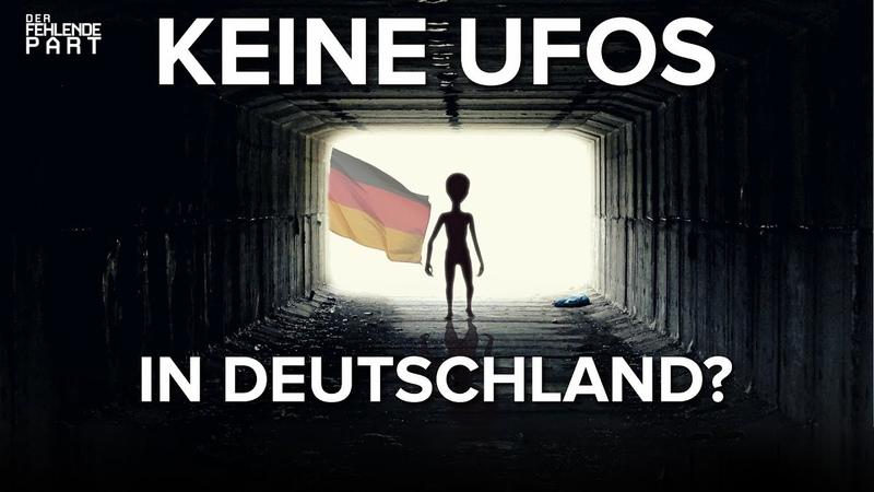 Unheimliche Begegnung der deutschen Art werden UFOs hierzulande ignoriert