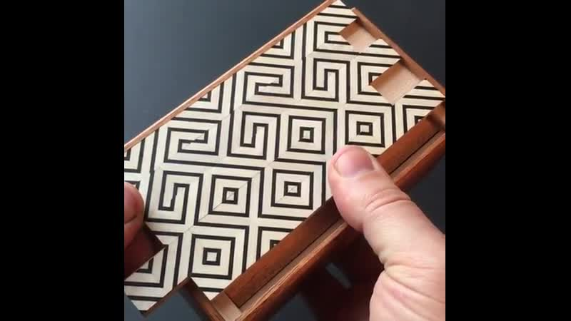 I recently spoke about making this puzzle box at the EG conference. Check out the link in my bio to see the full video.