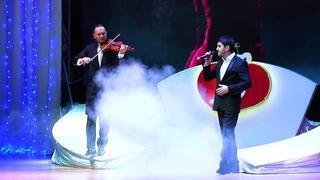 «Ti Amero» поёт Вильдан Абраров, скрипка Марат Садриев