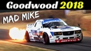 Mad Mike's Madbul Mazda FD3 Quad-Rotor RX7 - 2018 Goodwood Festival of Speed - Epic drift Flames!
