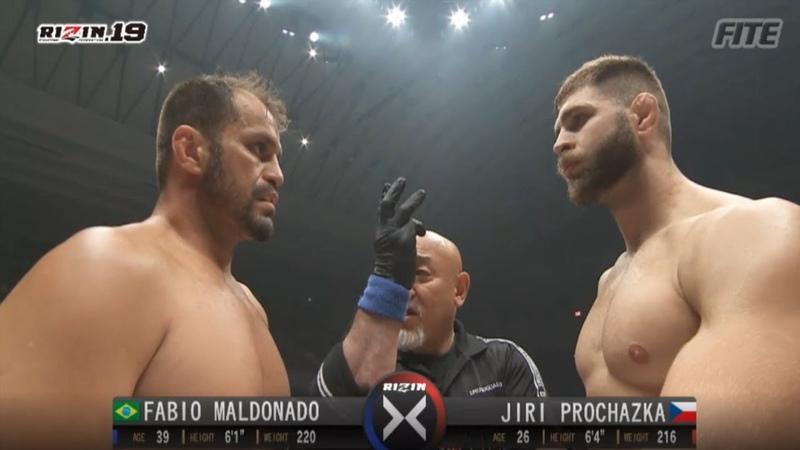 【RIZIN.19】イリー vs ファビオ Jiri Prochazka vs Fabio Maldonado