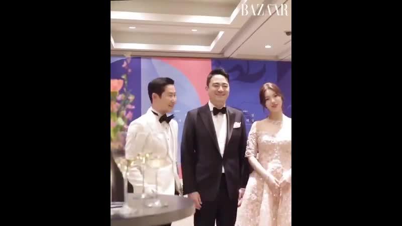 190501 MC SUZY at the 55th Baeksang Arts Awards Welcome Party Harpers BAZAAR Korea