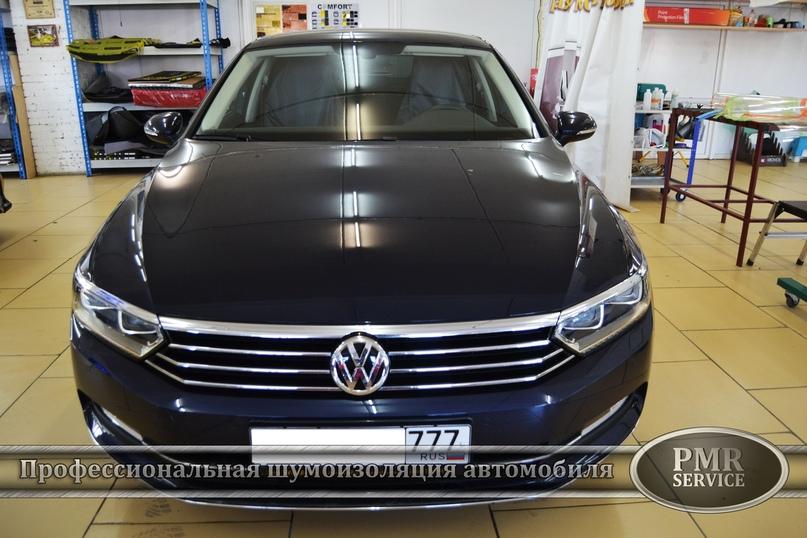 Шумоизоляция Volkswagen Passat, изображение №2
