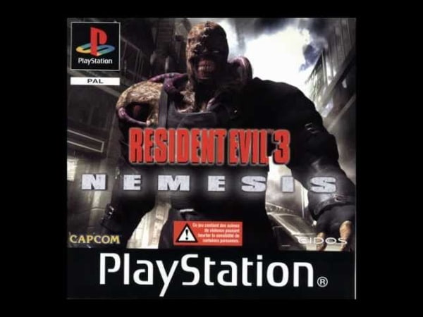 Marach Unfortunate Event Resident Evil 3 cover