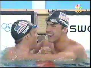 Men 400m individual medley final athens 2004 olympic games nbc