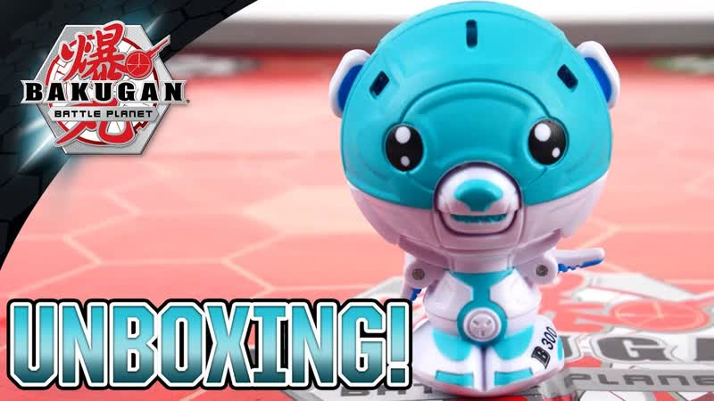 CUBBO!! Unboxing the STRONGEST Teddy Bear EVER! ¦ Bakugan Battle Planet