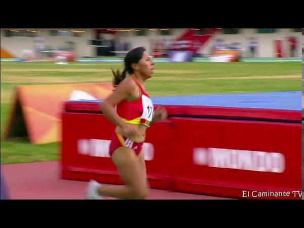 Cocha 2018 / Saida Irma Meneses Luz Mery Rojas Perù medalla de oro y plata 5000 metros HD
