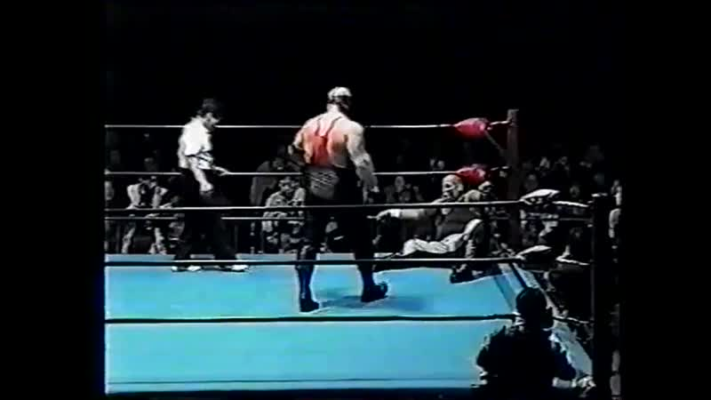 1998.12.04 - Stan Hansen/Vader vs. Headhunter A/Headhunter B