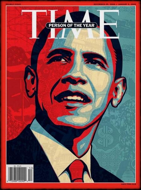 """Восемьдесят первым """"человеком года по версии журнала TIME"""" стал Барак Обама."""