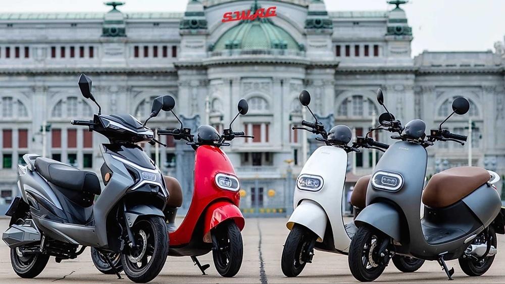 Электроскутеры Swag EV  представили в Бангкоке