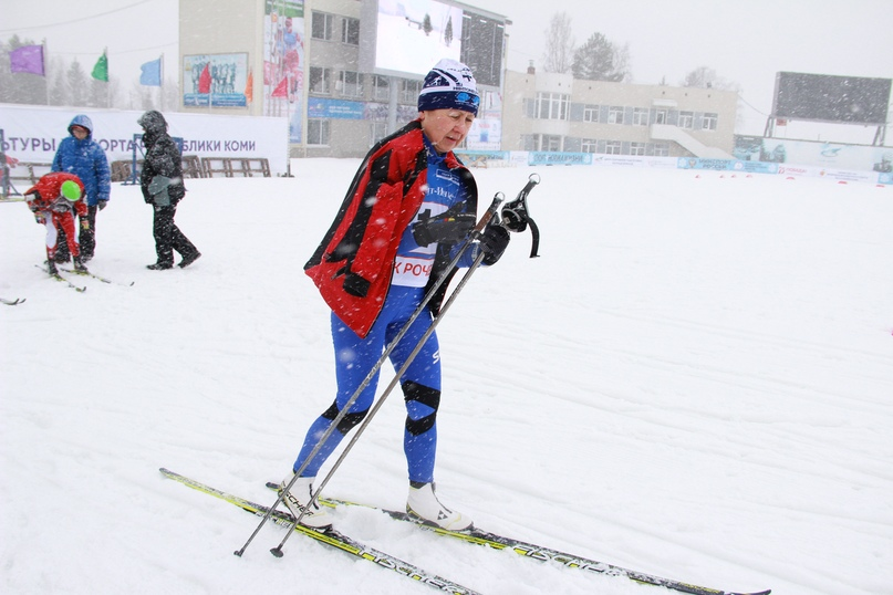 Нина Боковикова открыла гонку среди женщин