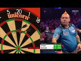 Peter Wright vs Glen Durrant (Grand Slam of Darts 2019 / Semi Final)