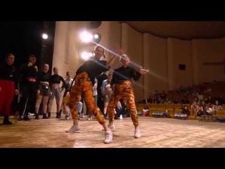 WICKED ZONE 2019  DANCEHALL 2x2   DASHA and NASTIA vs  MASHA and LIUDA  1/2