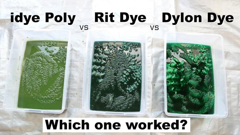 Battle of the Fabric Dyes! Dying Synthetic Hair | Rit Dye vs iDye Poly vs Dylon Dye