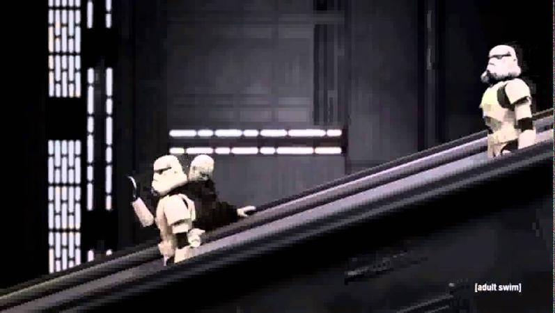 Star Wars Робоцып Император Палпатин и экскалатор