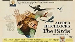 ASA 🎥📽🎬 The Birds (1963) a film directed by Alfred Hitchcock with Tippi Hedren, Rod Taylor, Jessica Tandy, Suzanne Pleshette