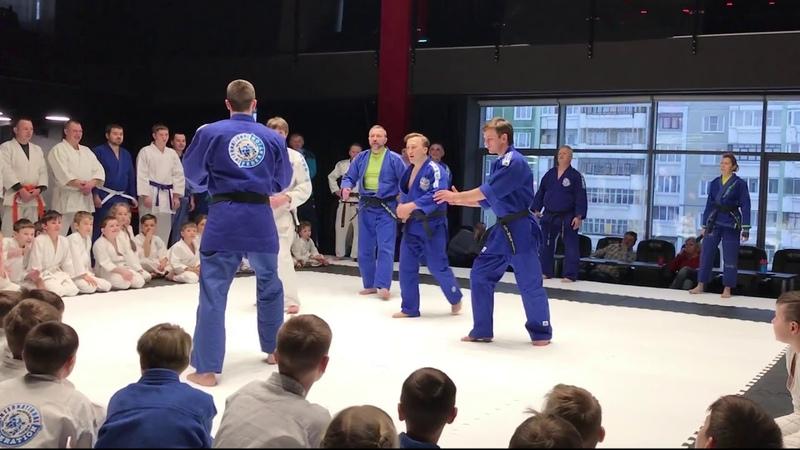 Прикладное айкидо: дзю вадза. Йован Спасович, 4 дан/Applied aikido: jiu waza. Jovan Spasovic, 4 dan