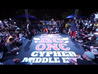 Red bull bc one cypher middle east 2019 ¦ final b-boys  hazy vs. sinbad