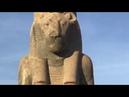 Боги Древнего Египта. Львиноголовая Богиня Сехмет. Карнак, Луксор,Египет, январь 2019.