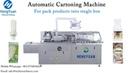 Automatic Cartoning Machine Single Commodity Carton Packing Machine Packing Box Packer