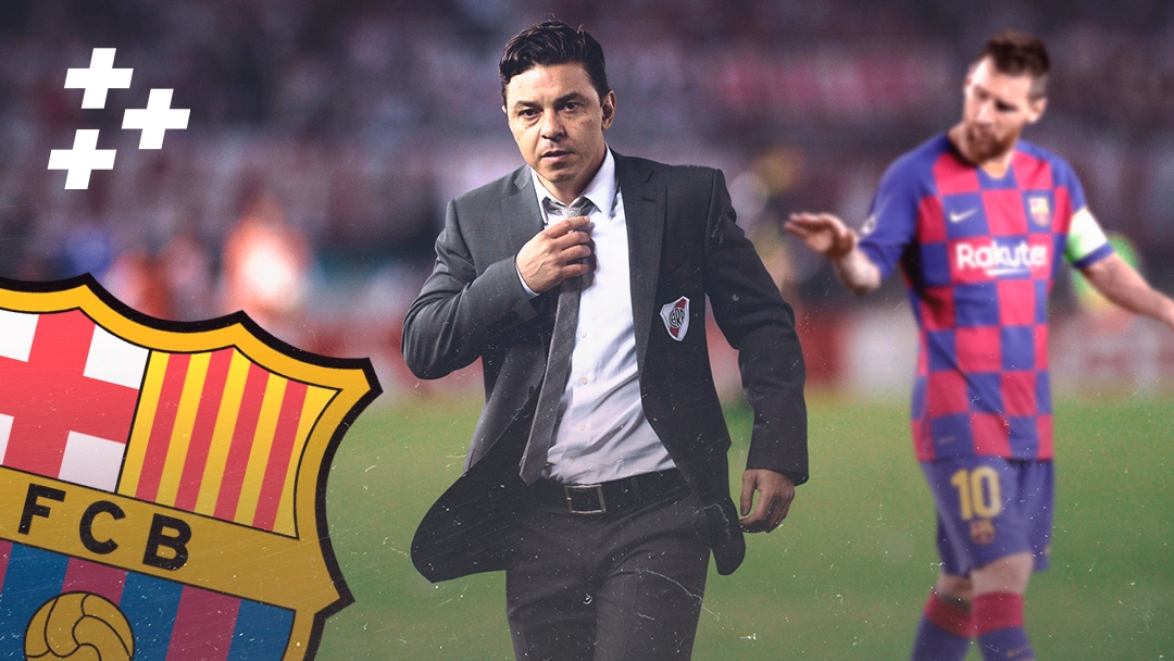 """Кажется, """"Барселону"""" возглавит аргентинский гений. Нет, это не Месси, а тренер """"Ривер Плейта"""""""