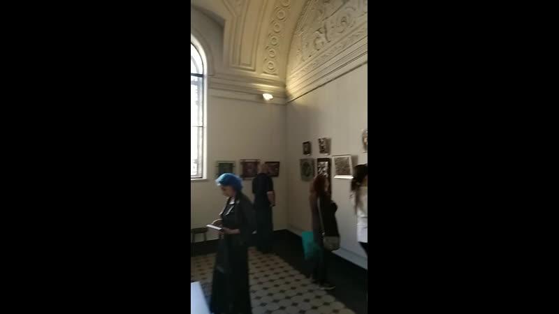Открытие биеннале горячей эмали в Академии Штиглица
