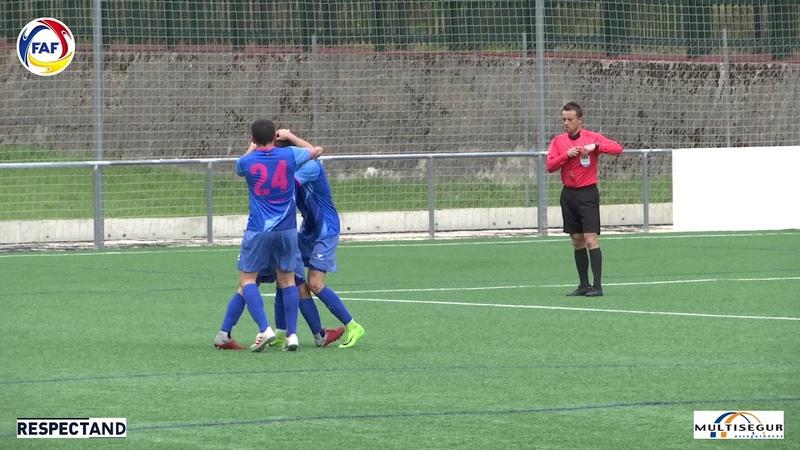 RESUM Lliga Multisegur Assegurances J1 Play offs UE Santa Coloma FC Encamp 1 2