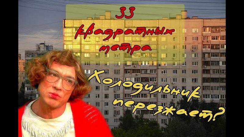 ПЕРЕСТАНОВКА ХОЛОДИЛЬНИКА 33 КВАДРАТНЫХ МЕТРА