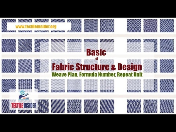 Basic of Fabric Structure Design।।Weave Plan, Formula Number, Repeat Unit।।TEXTILE INSIDER।।2018