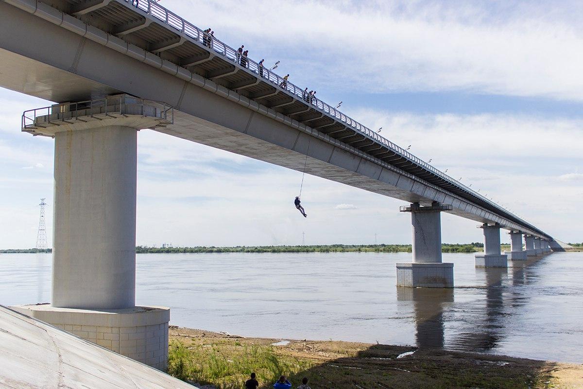 Афиша Хабаровск 10/11 Прыжки с Моста 25м Б. Уссурийский