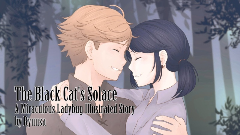 The Black Cat's Solace [Witch AU] | Miraculous Illustrated Fic