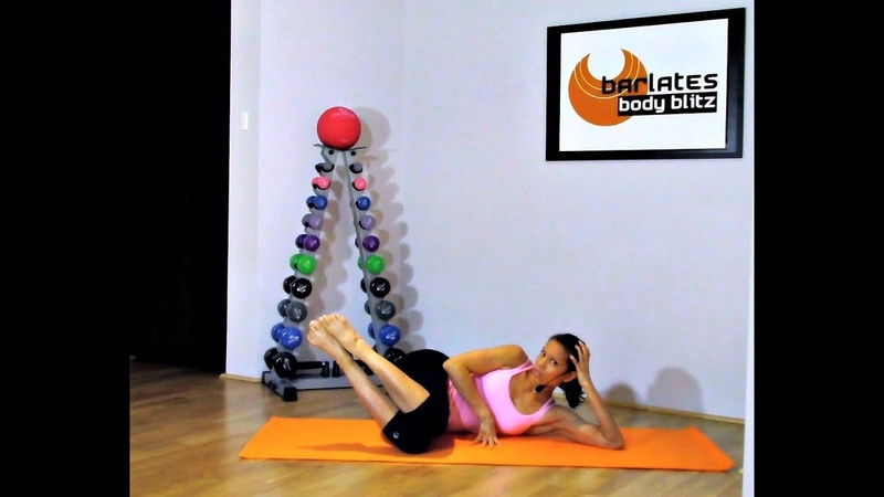 FREE Ballet Barre Mat workout Barlates Body Blitz Lower Body Mat Workout 16 minute Sample