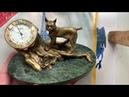 Видеообзор на настольные Ракета в бронзе и камне