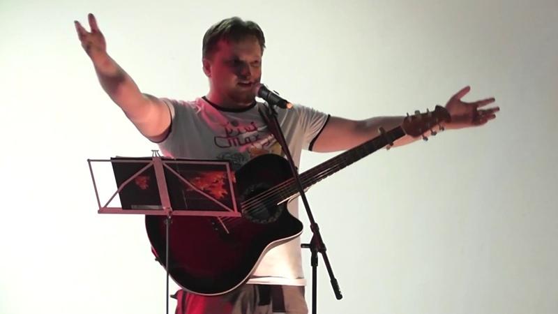Василий Телицын Песня Кота Леопольда в Качканарском детском лагере отдыха 2013